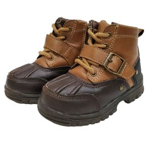 Smart Fit Leather Rubber Boots
